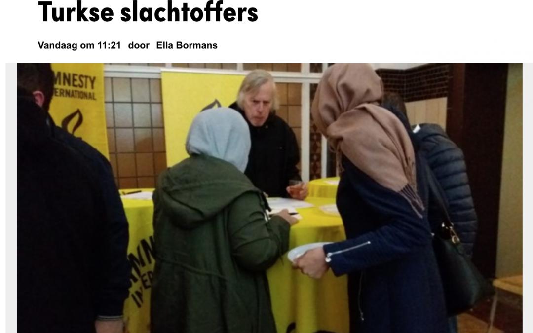Tenkil Müzesi Belçika Basınında