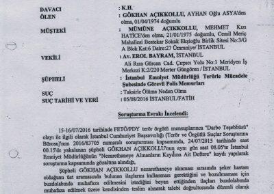 tenkil-museum-koleksiyon- Gökhan Açıkkollu - Kovuşturmaya Yer Yoktur Kararı